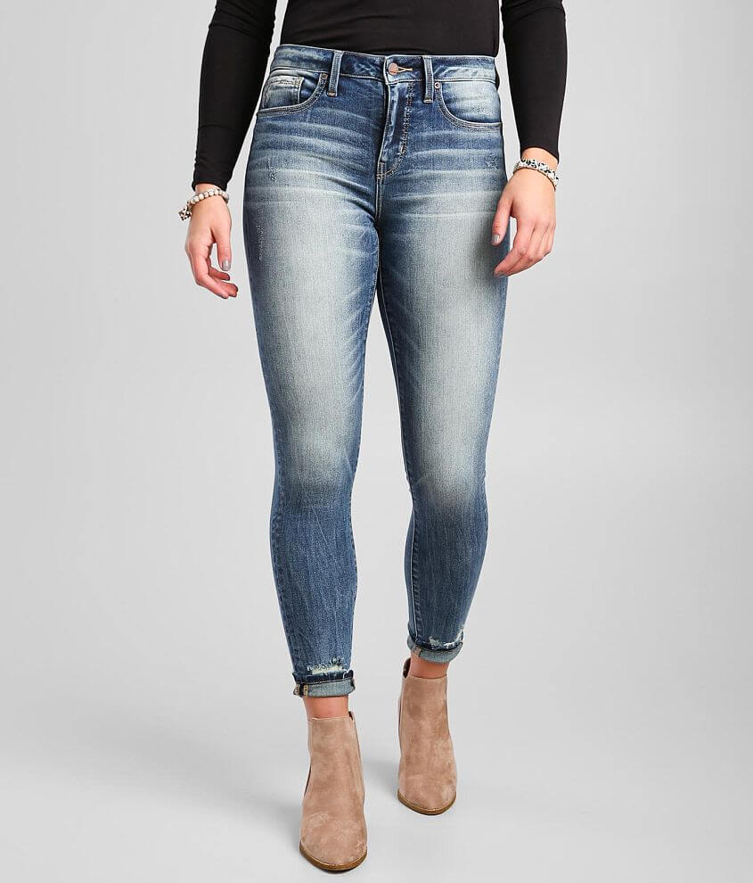 Buckle Black Fit No. 93 Mid-Rise Skinny Jean front view