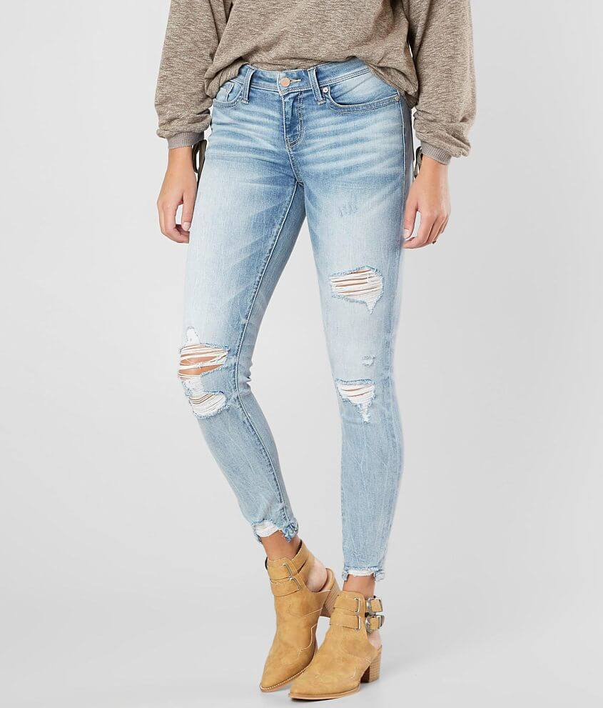 Buckle Black Fit No. 53 Ankle Skinny Stretch Jean front view