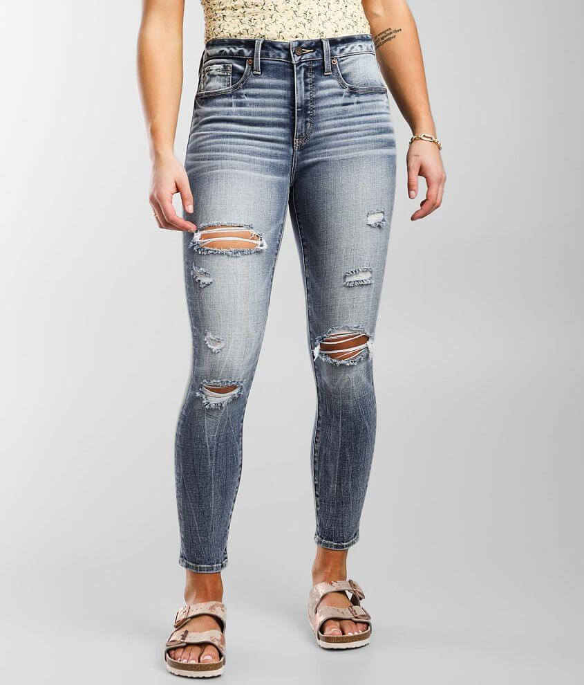 Buckle Black Fit No. 93 Mid-Rise Ankle Skinny Jean front view