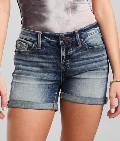 Buckle Black Fit No 53 Mid-Rise Stretch Short
