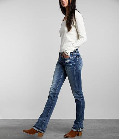 Buckle Black Fit No. 53 Mid-Rise Stretch Jean