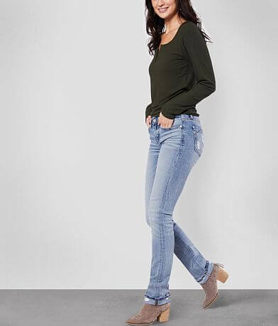 Buckle Black Fit No. 53 Mid-Rise Straight Jean