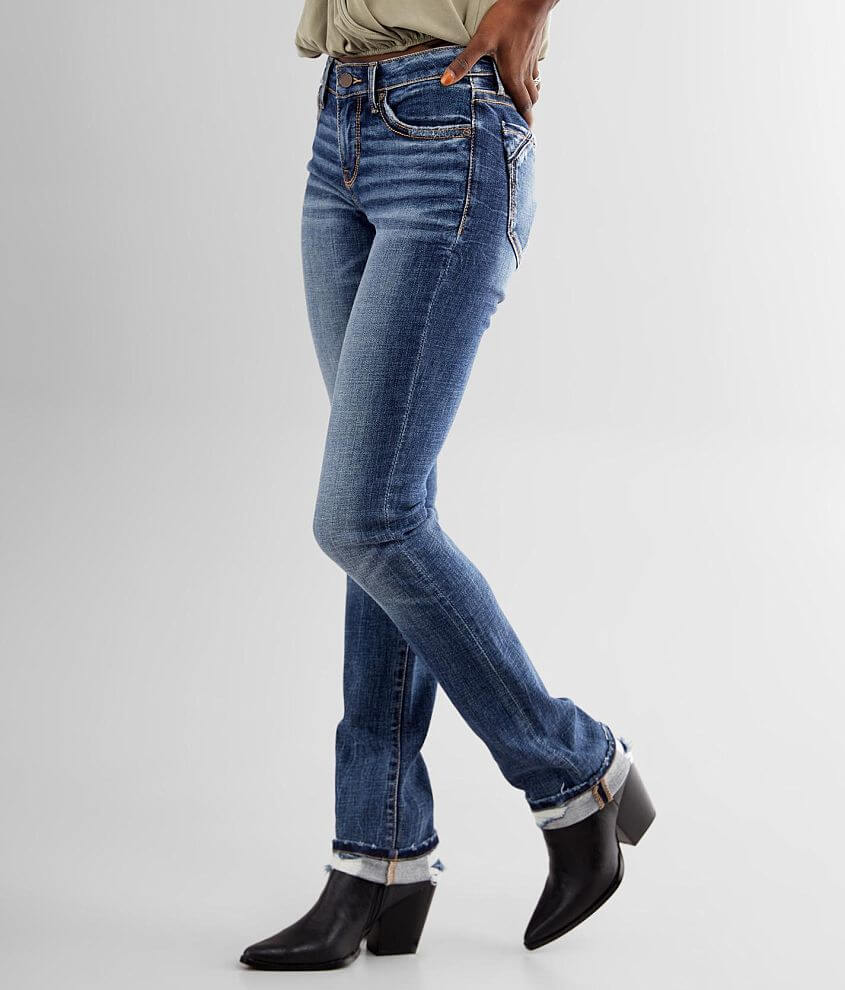 Buckle Black Fit No. 53 Mid-Rise Straight Jean front view