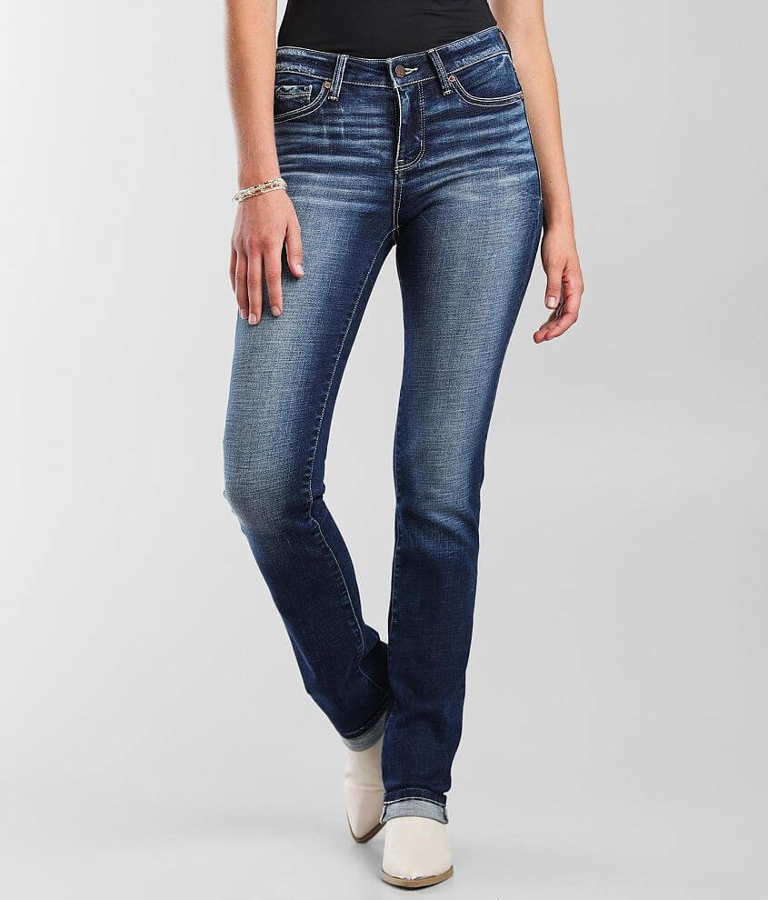 Buckle Black Fit No. 53 Straight Stretch Jean front view