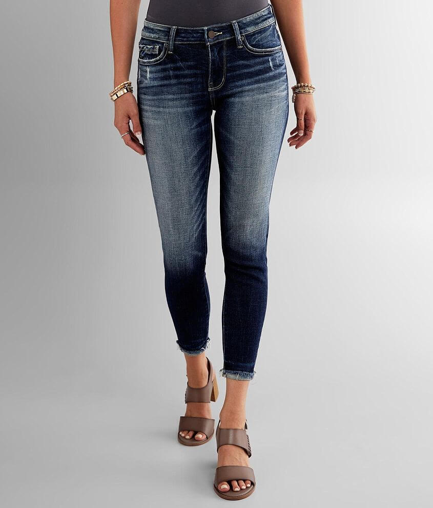 Buckle Black Fit No. 53 Ankle Skinny Cuffed Jean front view