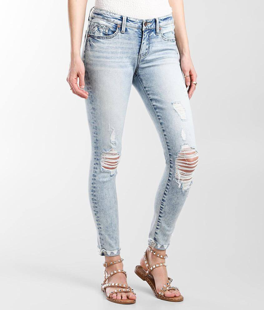 Buckle Black Fit No. 53 Mid-Rise Ankle Skinny Jean front view