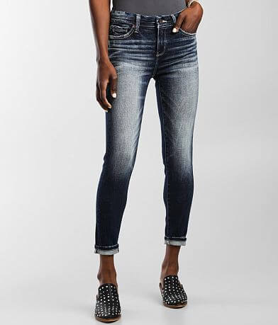 Buckle Black Fit No. 53 Mid-Rise Ankle Skinny Jean