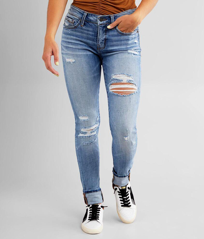Buckle Black Fit No. 53 Mid-Rise Skinny Jean front view