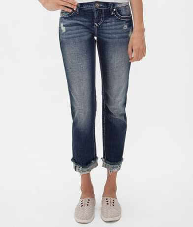 Daytrip Leo Stretch Cropped Jean