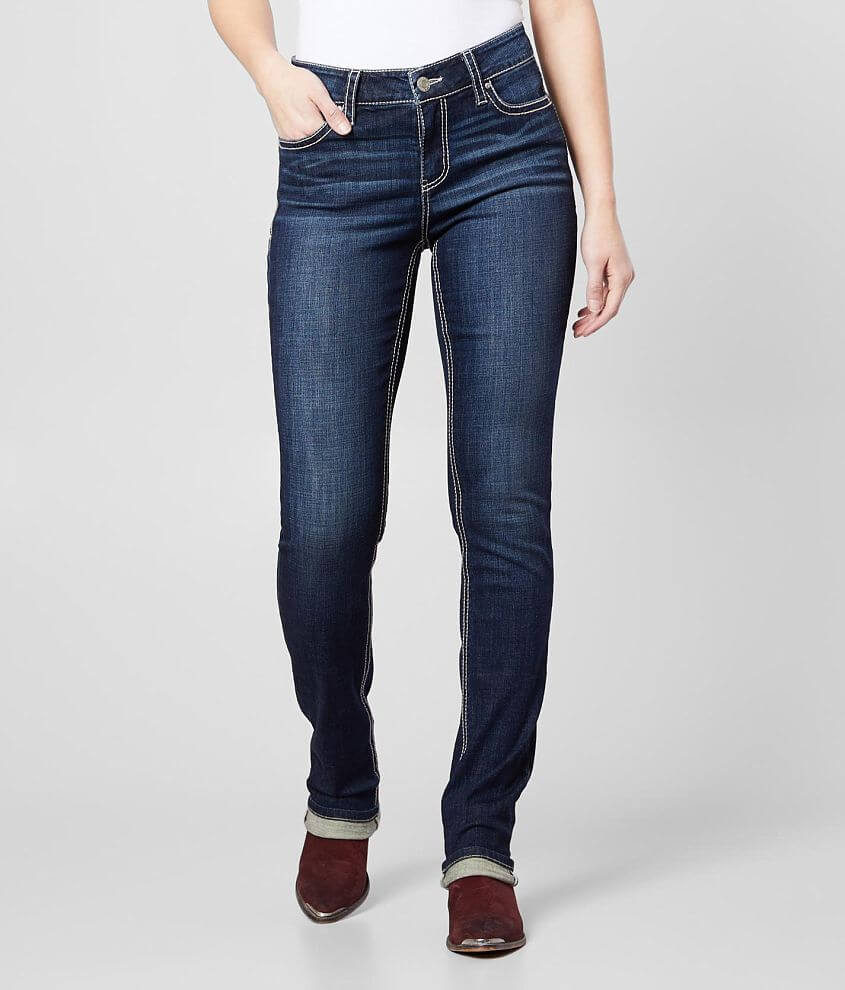 Daytrip Mila High Rise Curvy Straight Stretch Jean front view