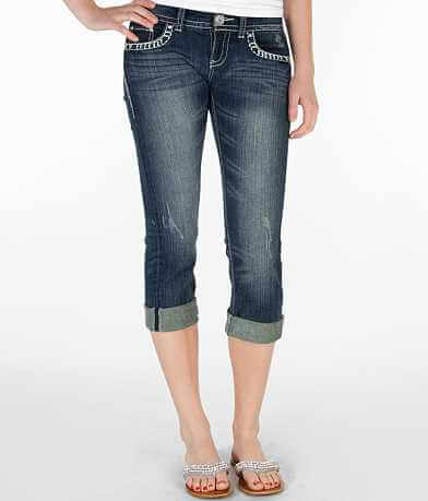 Daytrip Aquarius Stretch Cropped Jean
