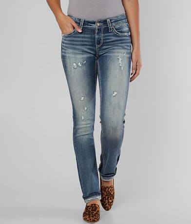 Daytrip Lynx Straight Stretch Cuffed Jean