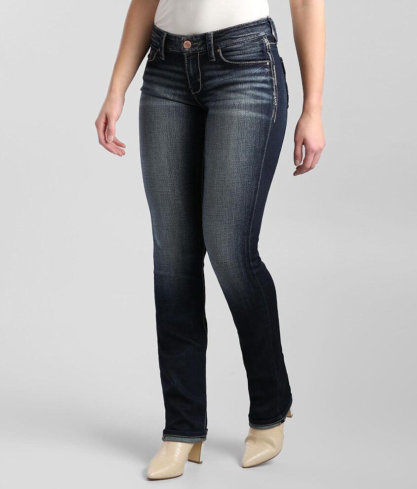 Daytrip Virgo Straight Stretch Cuffed Jean front view