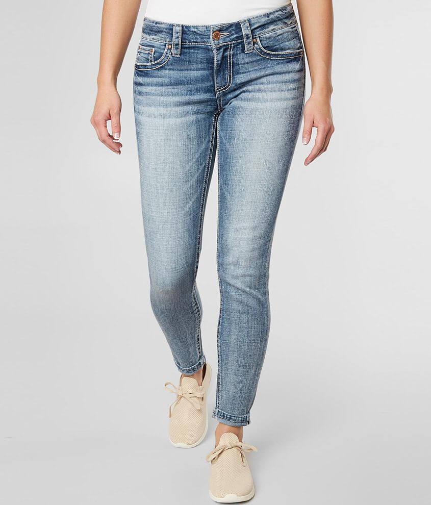 Daytrip Virgo Ankle Skinny Stretch Cuffed Jean front view