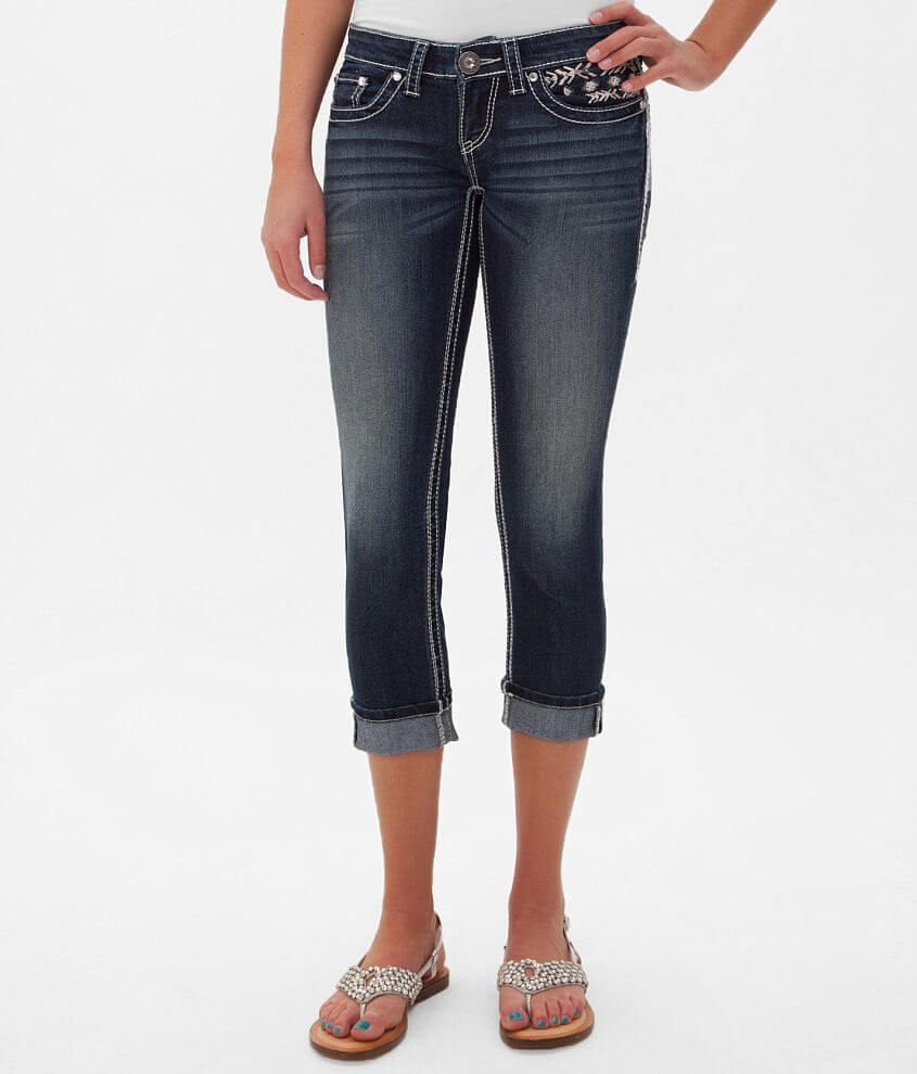 Daytrip Aries Skinny Stretch Cropped Jean front view
