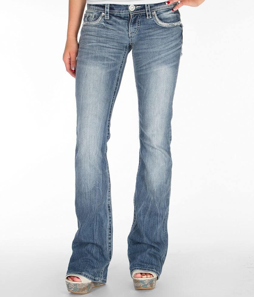 Daytrip Aquarius Flare Stretch Jean front view