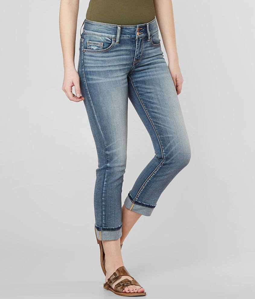 Daytrip Refined Lynx Stretch Cropped Jean front view