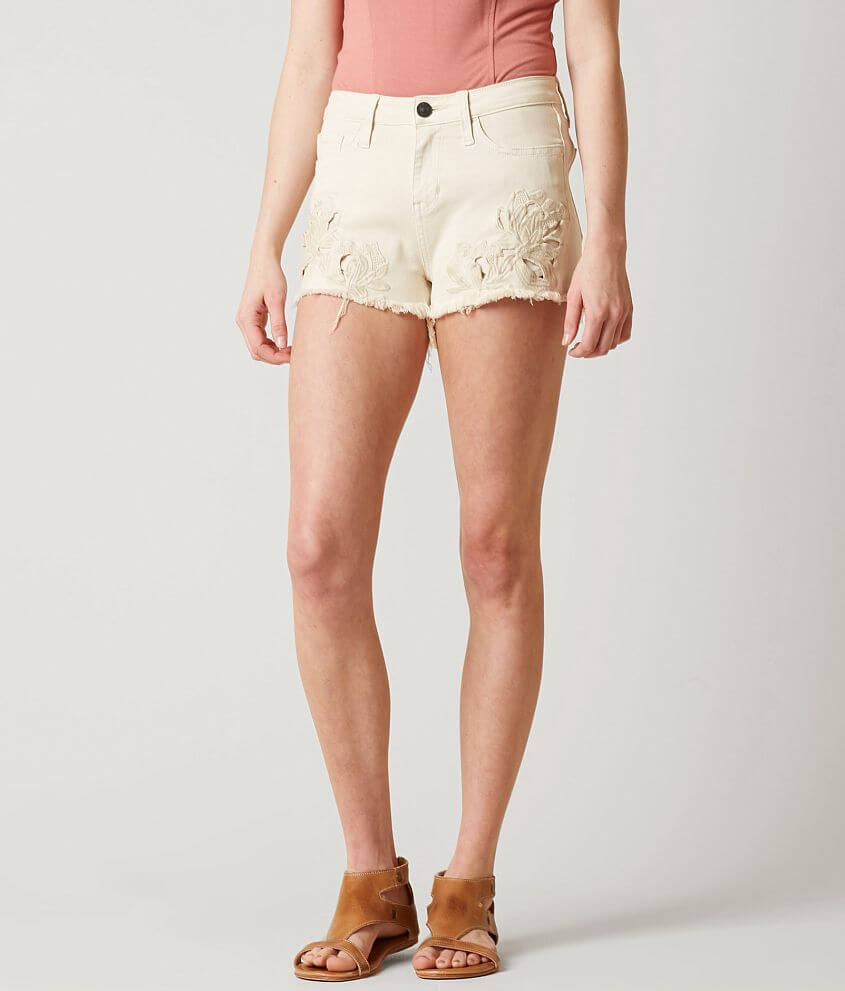 Daytrip Refined Capricorn High Rise Stretch Short front view