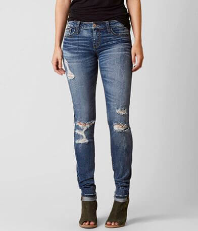 Daytrip Refined Lynx Skinny Stretch Cuffed Jean