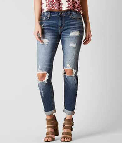 Daytrip Refined Lynx Slouchy Ankle Straight Jean