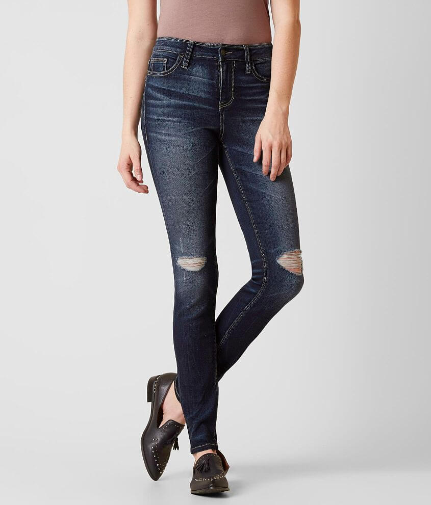 Daytrip Refined Lynx High Rise Skinny Stretch Jean front view