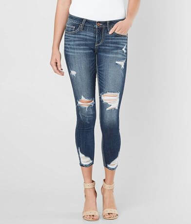 Daytrip Refined Lynx Mid-Rise Ankle Skinny Jean