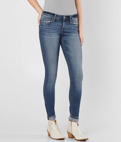 Refined by Daytrip Lynx Mid-Rise Skinny Jean