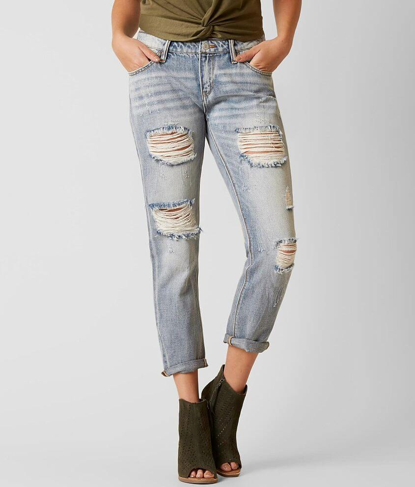 Daytrip Refined Lynx Slouchy Ankle Straight Jean front view