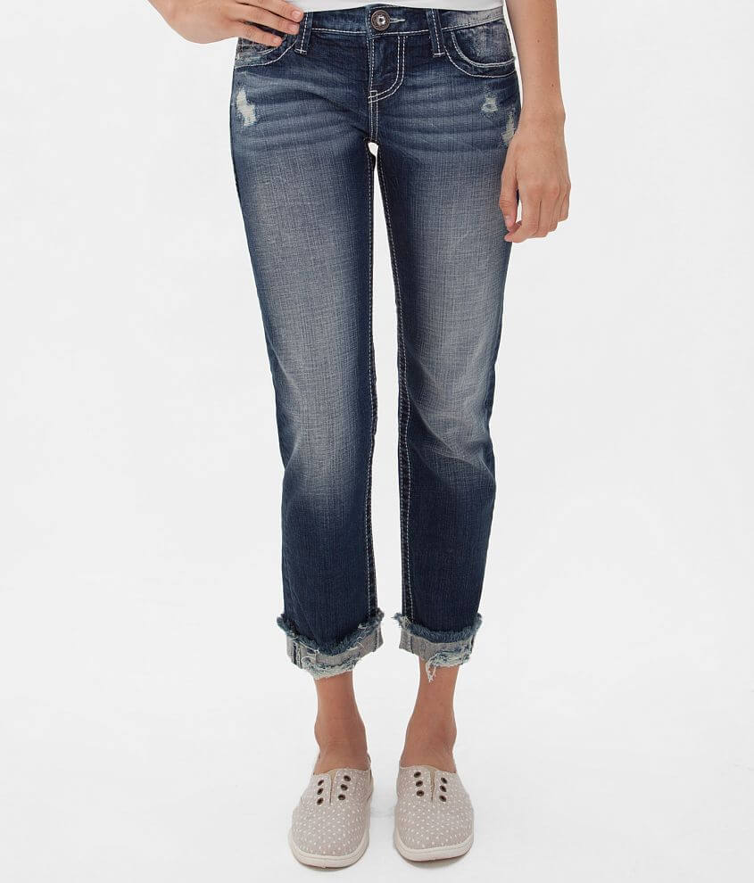 Daytrip Leo Cropped Stretch Jean front view