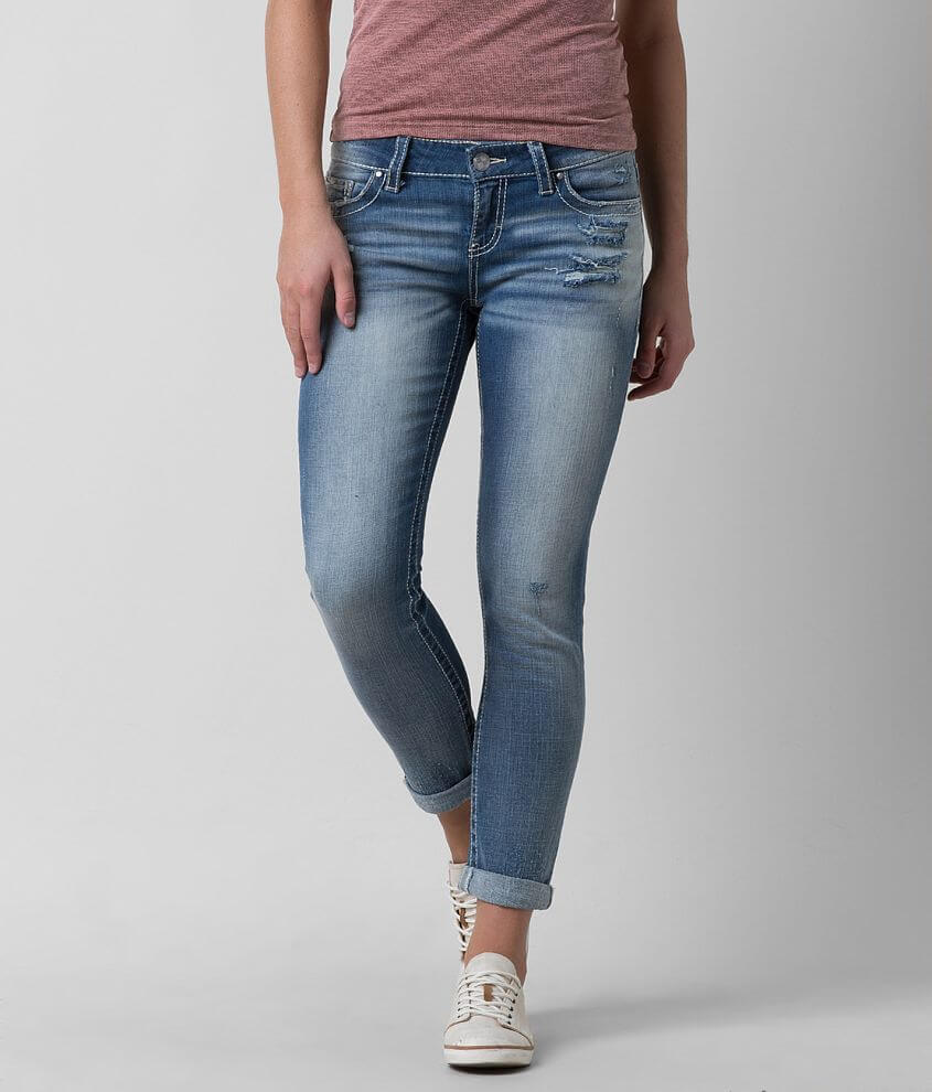 Daytrip Lynx Skinny Cropped Jean front view