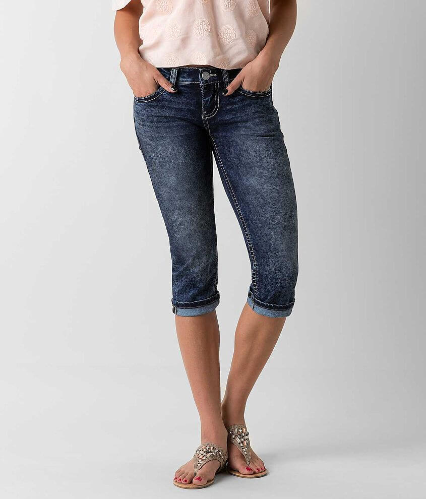 Daytrip Aries Cropped Stretch Jean front view