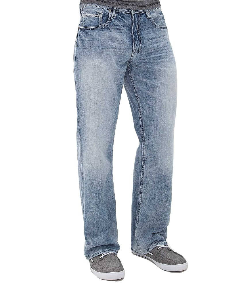 Reclaim Loose Straight Jean front view