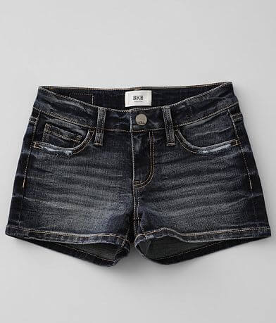 Girls - BKE Slim Fit Mid-Rise Stretch Short