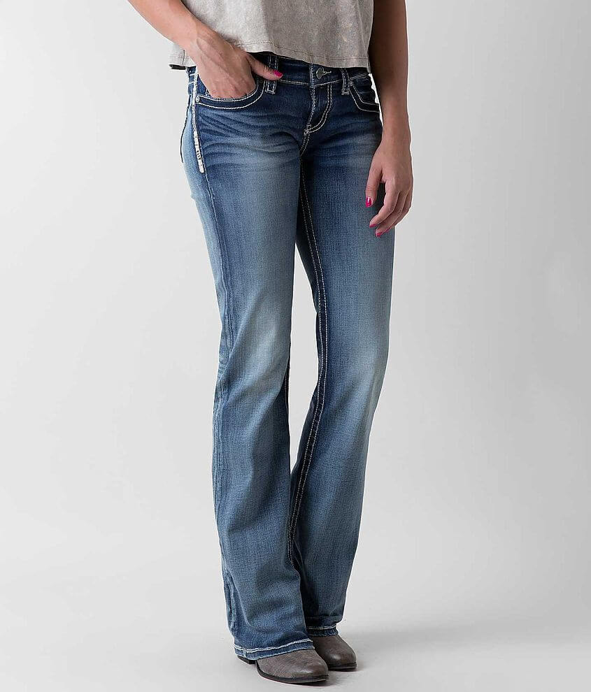 BKE Stella Flare Stretch Jean front view