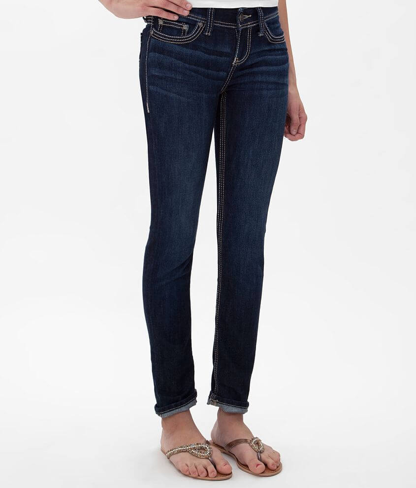 BKE Addison Ankle Skinny Stretch Jean front view