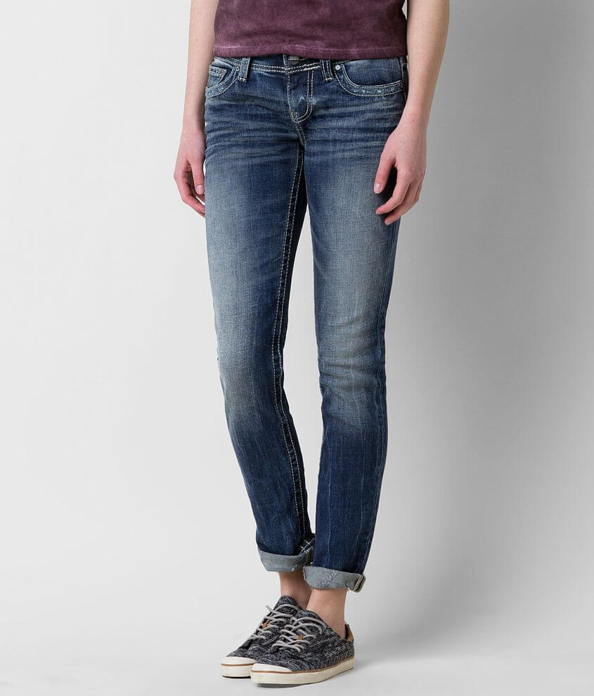 BKE Sabrina Ankle Skinny Stretch Jean front view