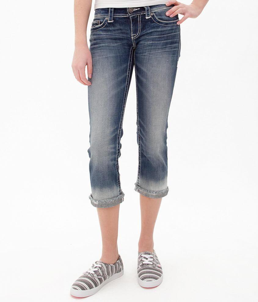 BKE Stella Cropped Stretch Jean front view