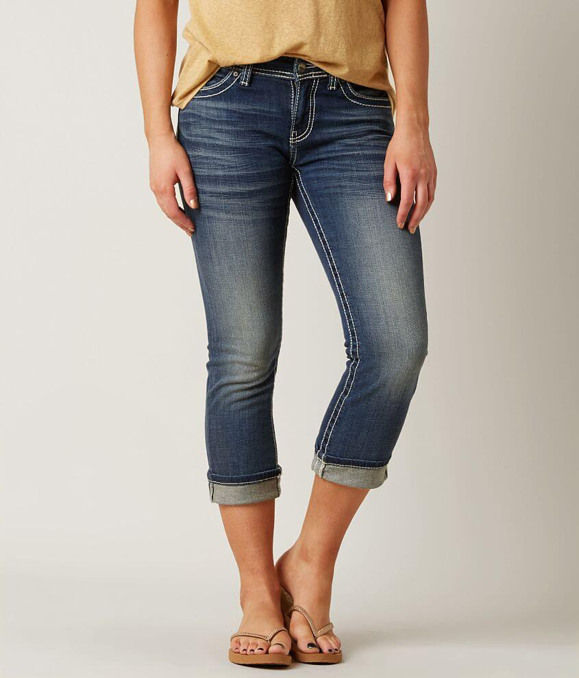 BKE Harper Stretch Cropped Jean front view