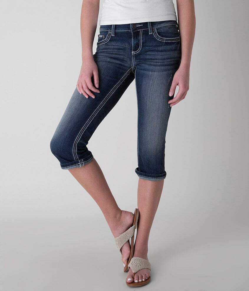 BKE Culture Stretch Cropped Jean front view