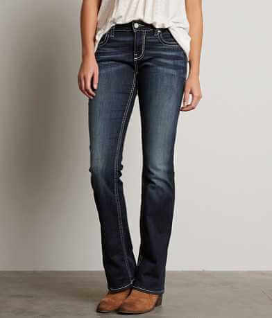 Buckle Black Fit No. 76 Boot Stretch Jean