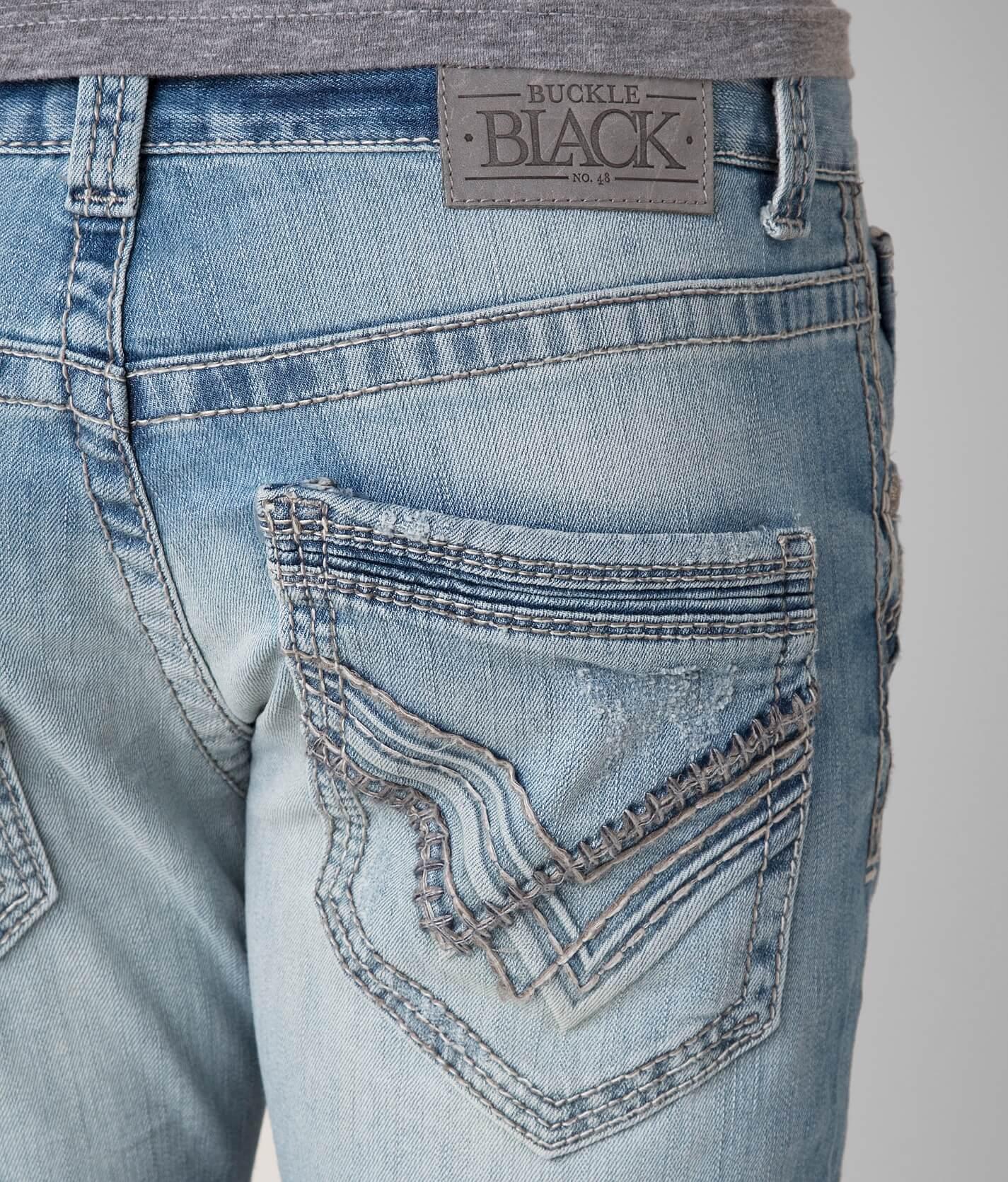 8dc7e8bb21d Buckle Black Three Straight Stretch Jean  6XuXh0108721  -  30.99