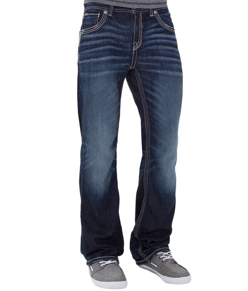 Buckle Black Nine Boot Jean front view