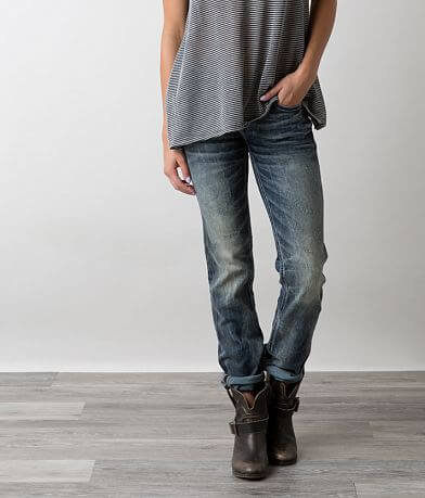 Buckle Black Fit No. 186 Straight Stretch Jean