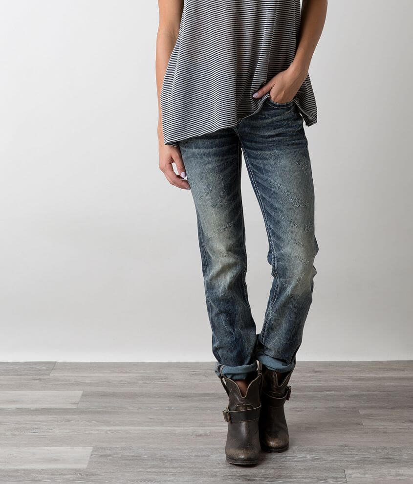 Buckle Black Fit No. 186 Straight Stretch Jean front view