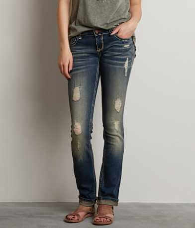 Buckle Black Fit No. 96 Straight Stretch Jean