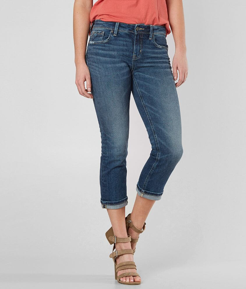 Buckle Black Fit No. 76 Stretch Cropped Jean front view