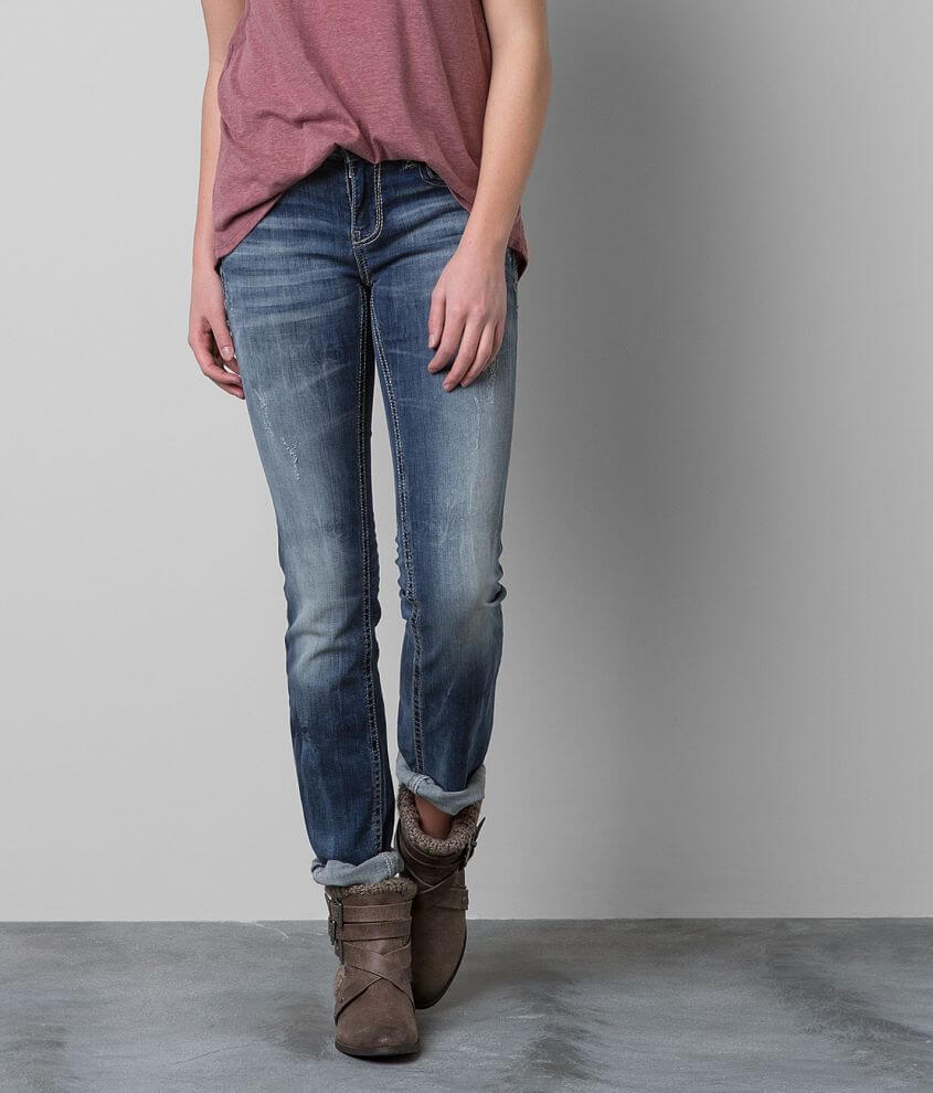 Buckle Black Fit No. 196 Straight Stretch Jean front view
