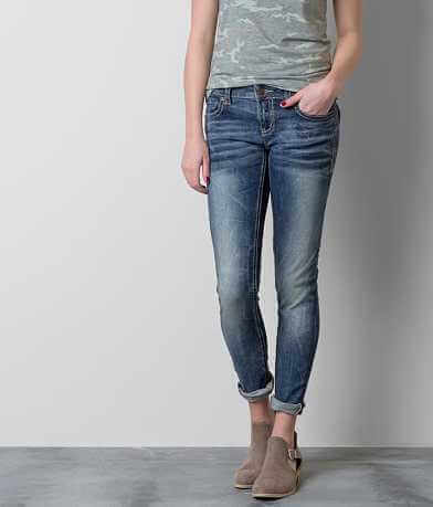 Buckle Black Fit No. 90 Ankle Skinny Stretch Jean