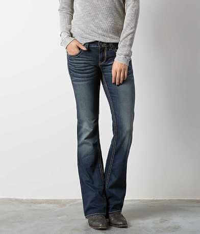 Buckle Black Fit No. 129 Boot Stretch Jean