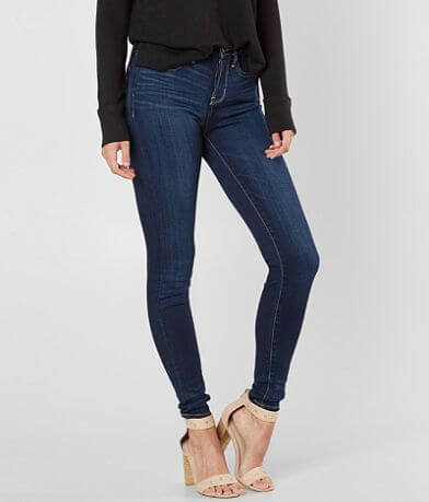 Buckle Black Fit No 53 High Rise Ankle Skinny Jean